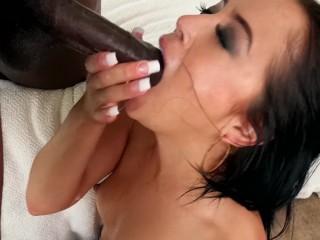 Gag Reflex 2 Kristina Rose - Petite Asian Teen Gets Throat Fucked By BBC