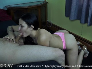 Sucking For A Mouth Full Of Cum - LJFOREPLAY