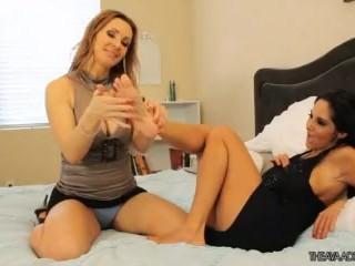 Ava Adams & Tanya Tate - Foot Worship HD (Feet)