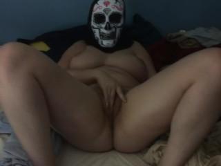 Big Tits Amateur Masturbates