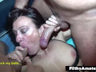 Cuban Milf Takes it Up the Ass! Perfect ass!
