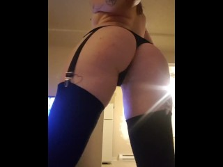 Daughter Does A Slutty Strip Tease For Daddy