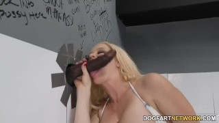 Busty Blonde Nikki Delano Fucks Black Cock - Gloryhole  big ass big cock bbc blowjob blonde gloryhole pornstar fetish busty kink interracial dogfartnetwork butt deepthroat latin big boobs fake tits