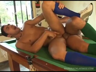 Latinos Eloy and Cayo Fuck Bareback