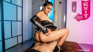 VRCosplayX.com Introduce Aysha X As Valkyrie With Thor's Hummer Dick