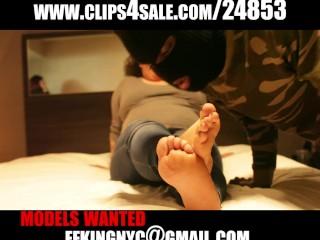 Latina bbw foot worship
