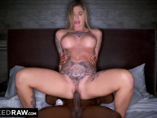 BLACKEDRAW Real Texas Girlfriend cheats with black stud at the hotel after