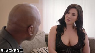 Preview 1 of BLACKED Anal Sex  With My Boss To Get Ahead