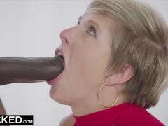 BLACKED Housewife Fucks Two BBCs