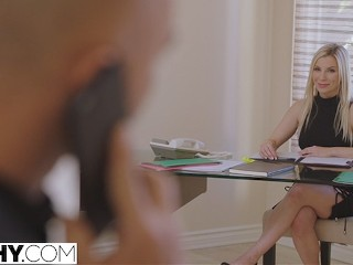 TUSHY Hot Secretary Has Anal With Her Boss