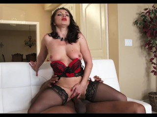 Shade X 2 Lea Lexis LINGERIE HUGE BLACK COCK EXTASY