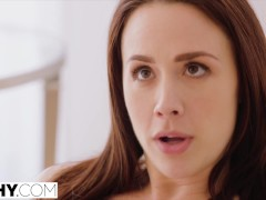 TUSHY Chanel pushes her anal limit with rough anal like never before