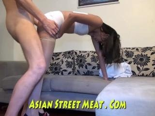 Gracefull Asian Buttocks Buggered
