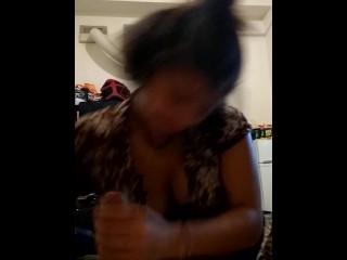 Blowjob ebony
