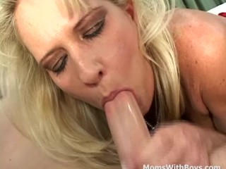 MILF Mom Sex Comfort For Kicked Out Boy