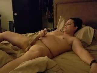 Jerking off at home