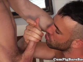Doggystyle fucked wolf gets his ass slammed
