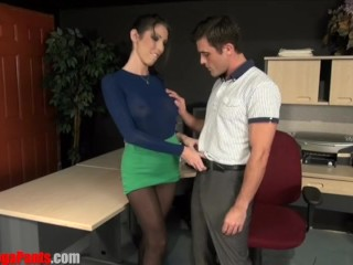 Dava Foxx Office Fantasy SWITCH FUCKING STRAP ON