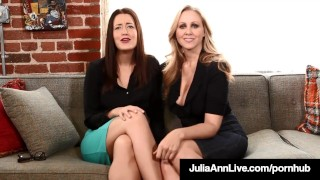 Femdom Milf Julia Ann & Kimberly Kane Make You Submit Sissy!  vagina masturbating big tits lingerie masturbation masturbating blonde pornstar pov fetish bigtits milf mature bigass girlgirl natural tits fake tits juliaannlive 2girls undressing