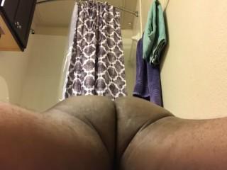 Work those ass muscle got caught