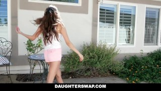 DaughterSwap - Asian Teen & Best Friend Take Turns Fucking DADS  teen outdoors dad asian young eurasian smalltits brunette daughter petite shaved daughterswap bigcock teenager