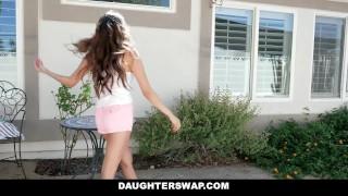 DaughterSwap - Asian Teen & Best Friend Take Turns Fucking DADS  teen outdoors dad asian young eurasian smalltits brunette daughter petite shaved daughterswap bigcock teenager