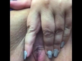 Rubbing at work.