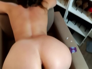POV She gets anal fucked by her step brother