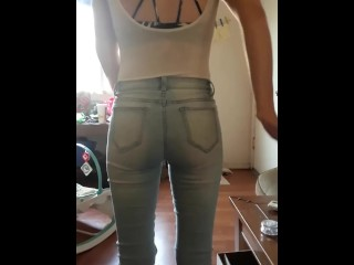 Her Ass Looks Great in Those Jeans ;)