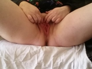 BigTits4BigCock Teases Wet Pussy