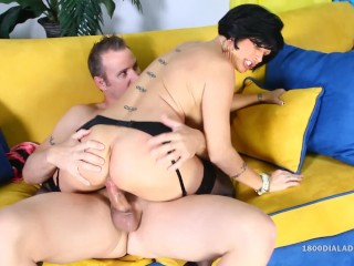 800DAD - Big Tit Milf fucked hard by Handyman Cock