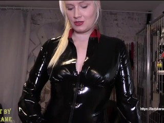 Are you ready for your first lesson in getting fucked?  Watch the whole clip on LadyKarame.net