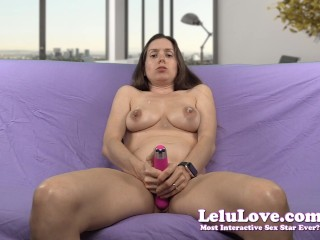 Lelu Love-Spit And Saliva Vibrator Masturbation