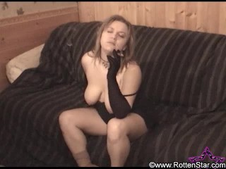 First Cigar Smoking Video - ALHANA WINTER - 2002 Digital 8 Shot Amateur