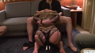 Extreme JAV bound free use blowjobs Minako Komukai Subtitled  shibari bbw subtitled freeuse oral asian voluptuous blowjob zenra jav subtitles curvy japanese japan bondage group