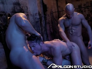 All Hunks Anal Orgy in Hell with Muscle God Sean Zevran
