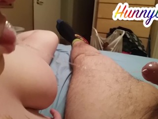 Hunny loves precum and I love her playful BJs