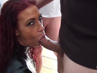 Amazing Tits Amsterdam Bukakke Latex Cumshower