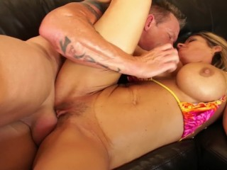 Kristal Summers Giant Boob Pussy Stretching Fun