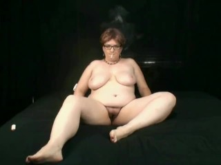 Brattyvikki smoking solo clip 2