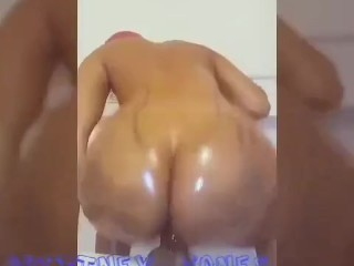 Brittney Jones Riding Dildo (IG @BrittneyJones_XRated)