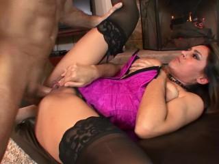 Big Titty Milf Raylene Fucked Hard By Fireplace