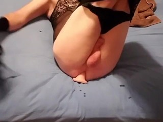168 lashes for my sissy ass and a good dildo fuck in my ass!! Panty boy!