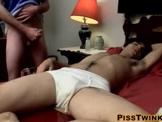 Devin Reynolds and Dakota James have hardcore pissing fun