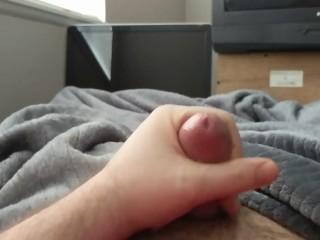 Quick masturbation session after 3 days of edging