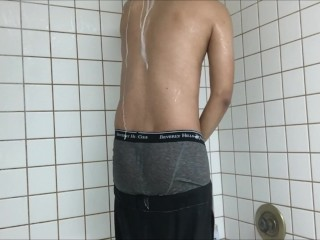 Shower Sagging 2 - SexySaggerYo