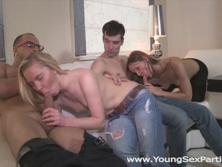 Young Sex Parties - Angie Koks - Sabrina Moore - Sharing the fruit of group