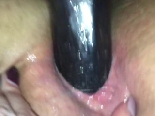 Femdom male slave machine fucking asshole