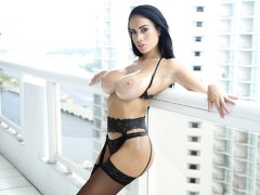 TeamSkeet - Big Tit Brunette Goddess Pounded By Hard Cock