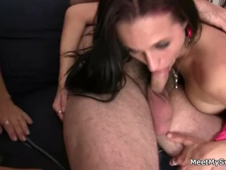 She meets with his lustful parents